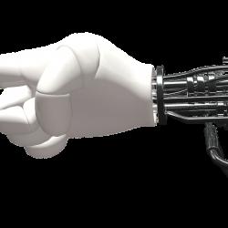 hand, robot, machine
